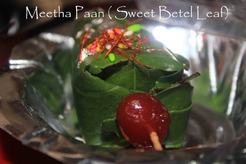 Meetha Paan (Sweet Betel Leaf)