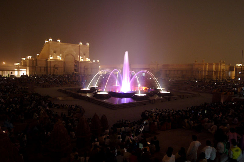 Akshardham Musical Water Fountain Show