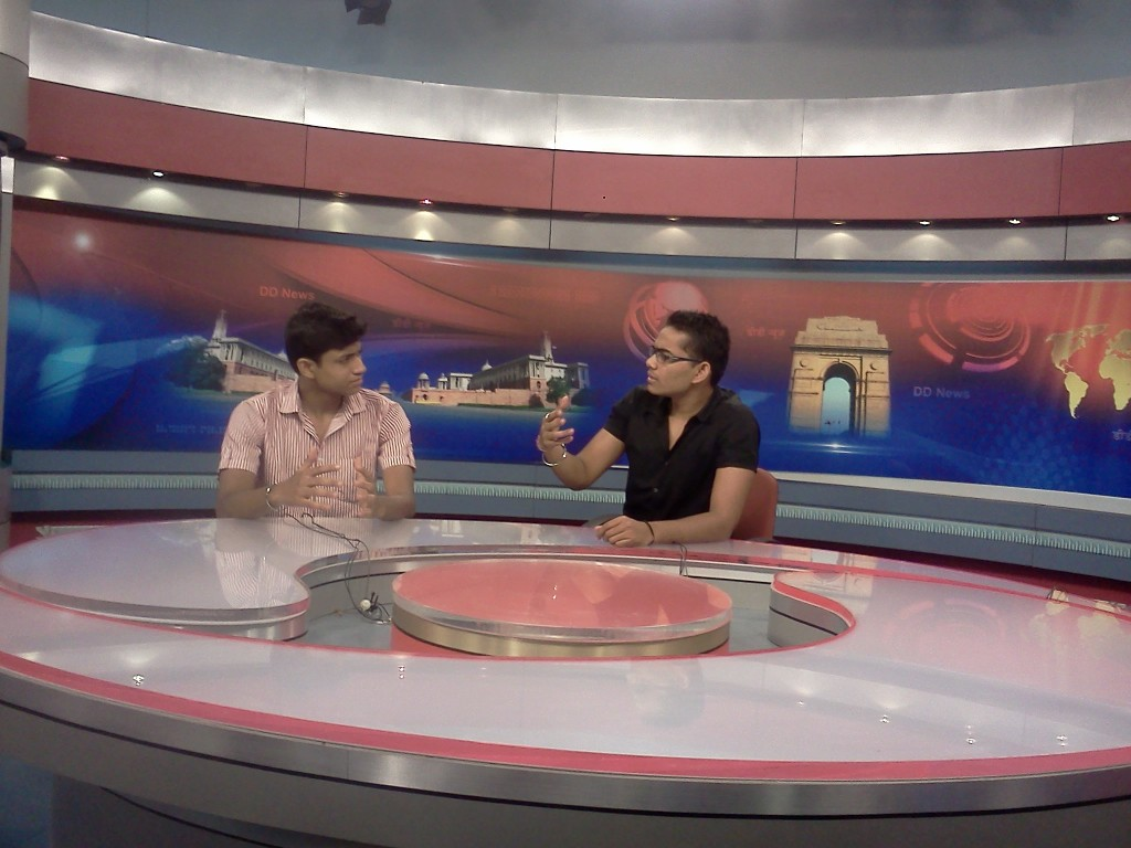 In a discussion at Doordarshan News channel
