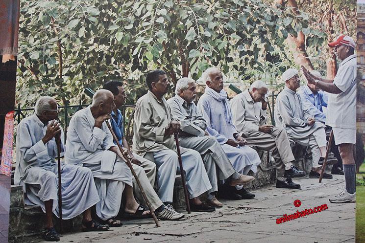 Senior Citizens of Delhi, India