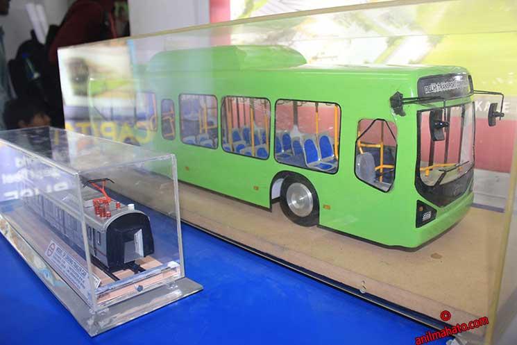 Delhi Transport Corporation Non AC Bus ( Green)