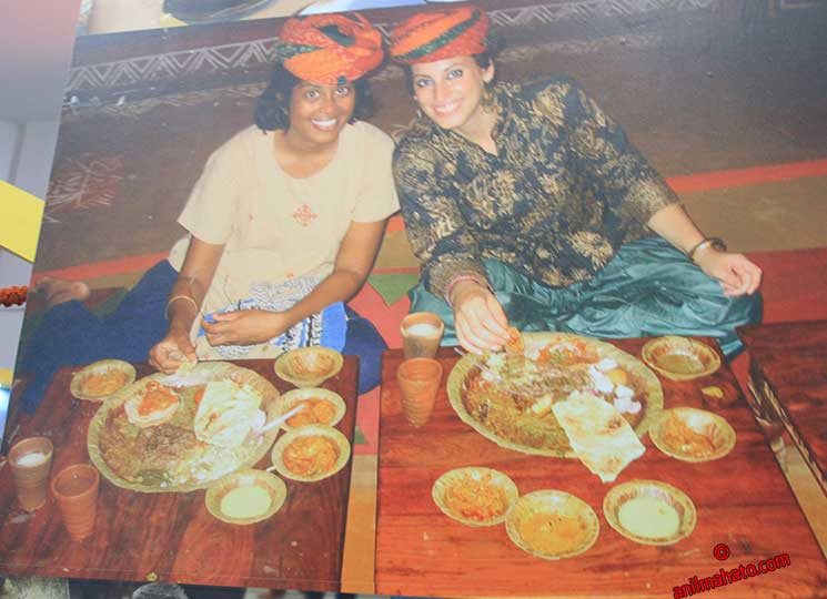 Delhi's Food with Rajasthani Pagadi