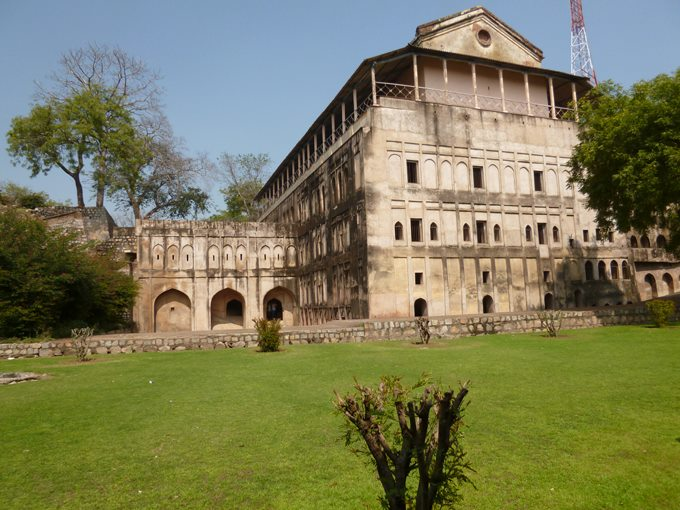 A View From Jhanshi Fort