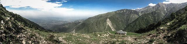 View from Dharmasala, Uttarakhand  North India