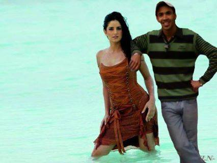 Me with my ex girl friend , Katrina Kaif ( Bollywood actress)