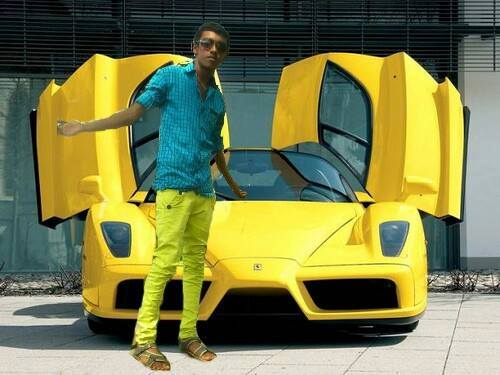 Funny Indian guy with ferari