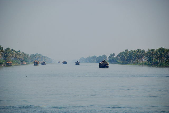 Kettuvellam vembanad lake of Kerela