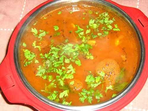 Kerala Dish - Tomato Rasam
