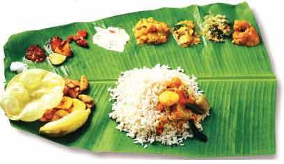 Kerala Dish - Sadya