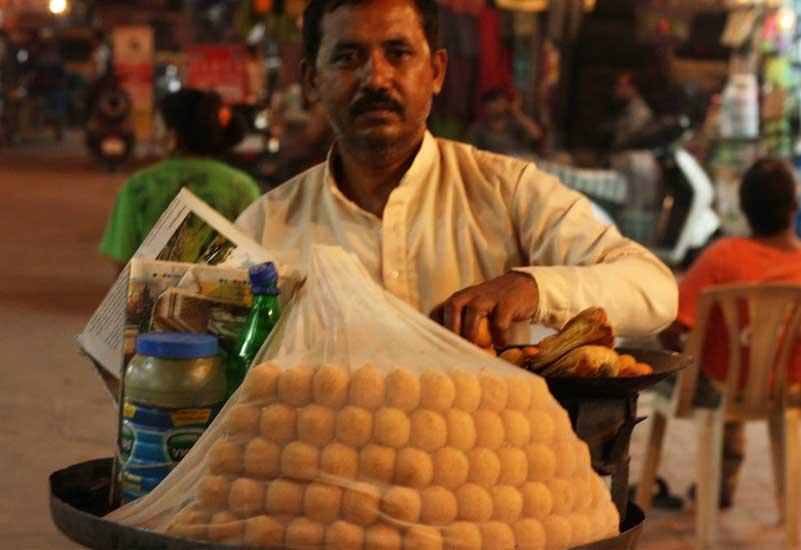 ram laddu - a spicy indian snack
