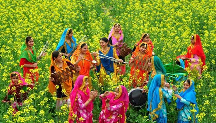 vasant ritu वसंत ऋतू - spring season in india